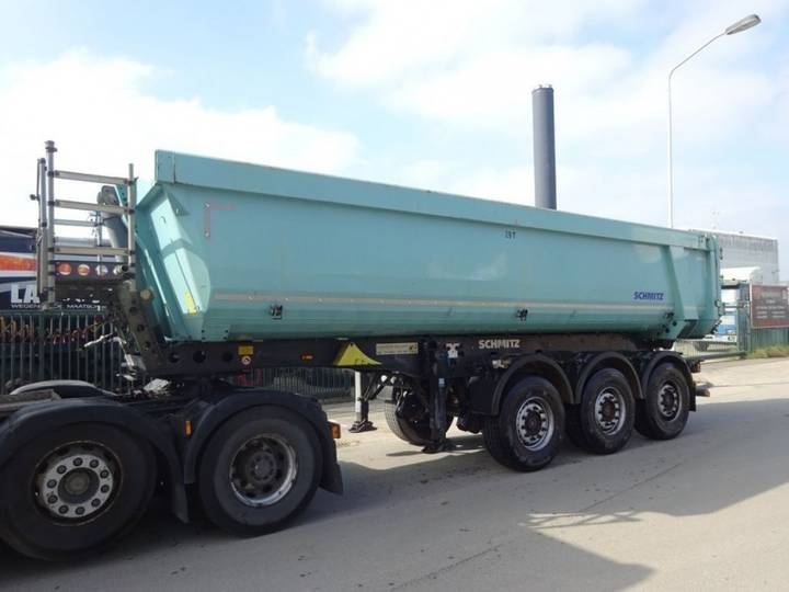 Schmitz Cargobull 3 ASSIGE KIPPER TRAILER - 2012