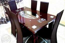 Quality glass dinning table