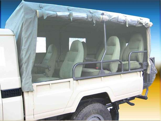 MCI Ltd: Canvas hoods and covers for Land Cruisers Industrial Area - image 7