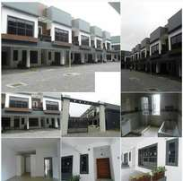 4 unit of 4 bedroom terraced House with BQ Ikate, Lekki