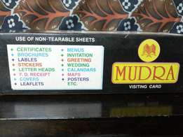 Visiting Cards Non Tearable
