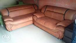Quality Leather 7-Seater Sofa Chair