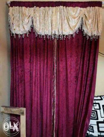 Two sets for Maroon Curtains