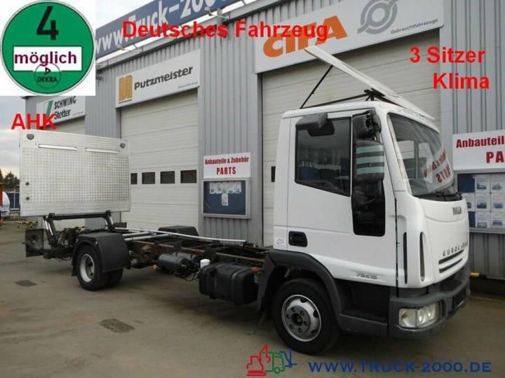 Iveco 75E15 EuroCargo LBW*AHK*Klima*1.Hand Tempomat - 2006