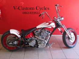 Custom Springer Chopper Price Has Been Drastically Reduced by R45 000!