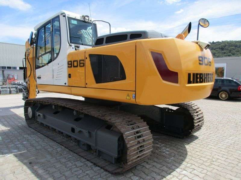 Liebherr R 906 Litronic Advanced Lc - 2013