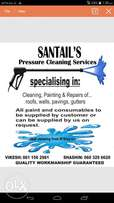 Santails Pressure Cleaning Services