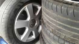 VW rims and tyres 16inch original