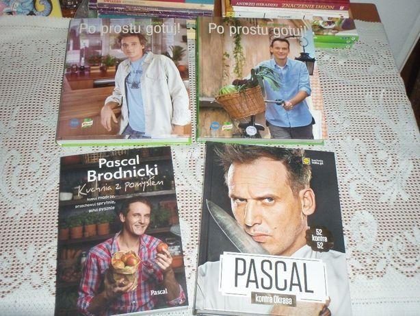 Pascal Brodnicki Zestaw 4 Książek Gdańsk Przymorze Wielkie