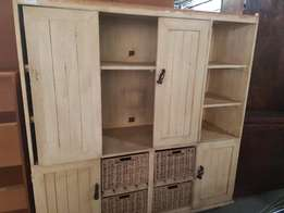 Cream wall unit