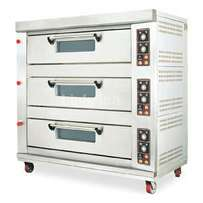 Gas deck oven 9trays