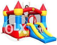 A jumbo special of Bouncing castle and cartoon character for 19,990