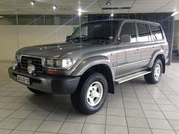 1996 Toyota Land Cruiser 4500i GXL (One Owner)