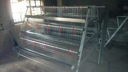 120 Birds Battery Cage for poultry birds