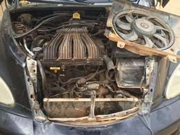 Complete Chrysler PT Cruiser Engine 2.0 With Control BoardAnd Gear Box