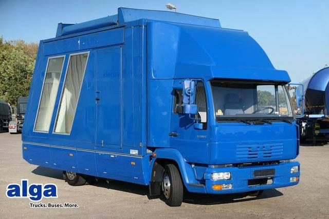MAN 8.185, Messe Fahrzeug, Kofferaufbau, Ausstellung - 2001