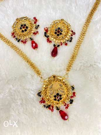 Red & Black Indian set