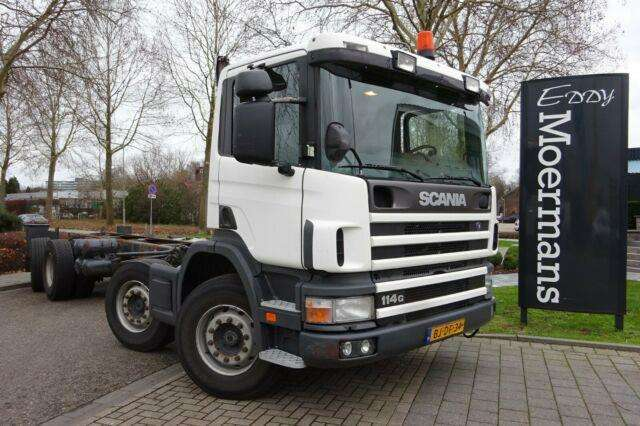 Scania P 114g 340 8x2*6 Fahrgestell - 2000