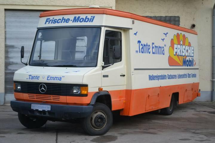 Mercedes-Benz 709D Verkaufswagen Donkey Flensburger Foodtruck - 1988
