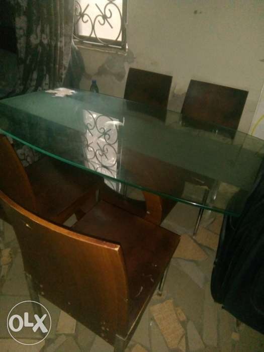 Foreign used dining table and chairs Abuja olxcomng : 1 from www.olx.com.ng size 525 x 700 jpeg 24kB