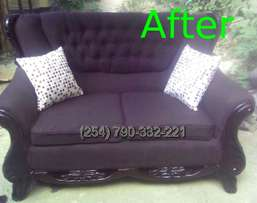 Sofa Seat covers, Sofa Repairs and ReUpholstery