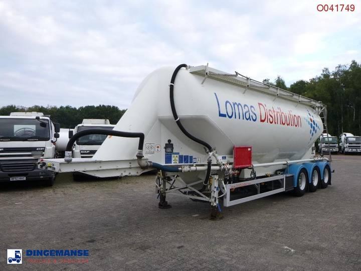 Feldbinder Bulk tank alu 43 m3 / 1 comp - 2010