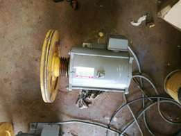 Electrical motors with gearbox