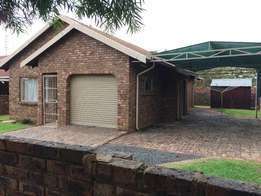 3 Bedroom home to let