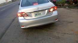 fresh n sweet brought brand new 2012/013 corolla briefly used