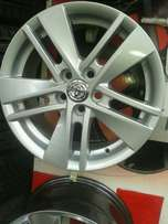 Alloy wheels for Toyota cars in size 15 inch