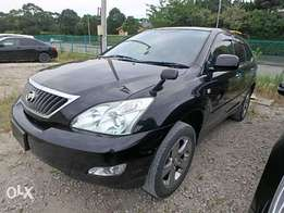 Toyota Harrier Year 2010 Model Automatic Transmission 4WD Black Color