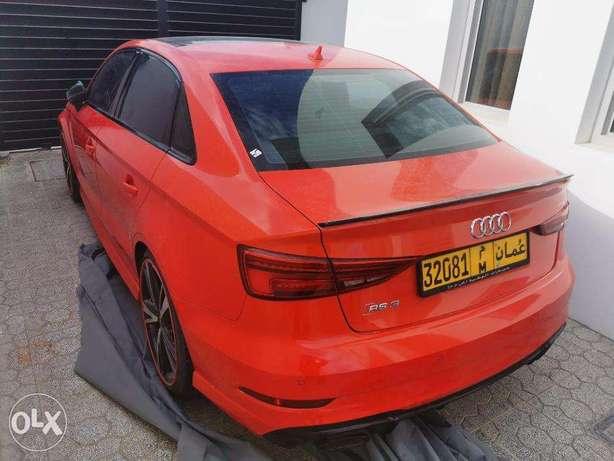 Audi RS3 Red Price is negotiable. Looking for best offer. Urgent sale