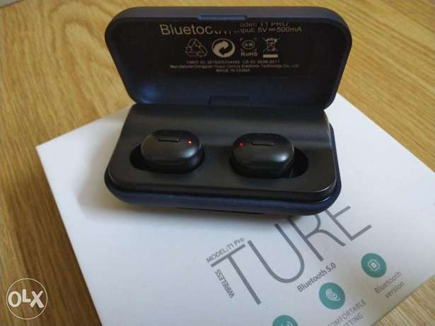 Ture earbuds T1pro bluetooth الرياض -  2