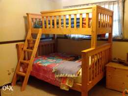 A custom made bunk bed in this design made on order