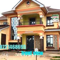 Lovely and evergreen 4 br with sq in ruiru house for sale
