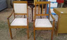 Oak Occasional Chairs