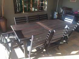 Patio furniture 8 Seater