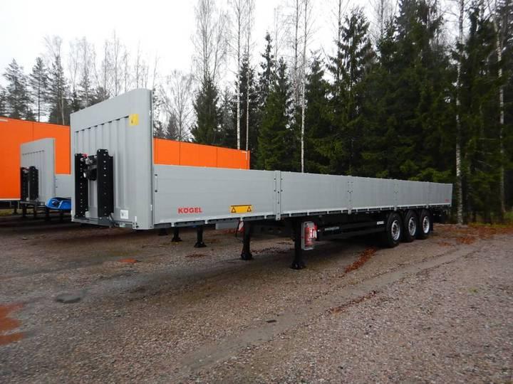 Koegel Multi Avopuoliperävaunu, Konttilukoilla - 2018