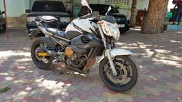 Yamaha xj6 naked street bike reduced price