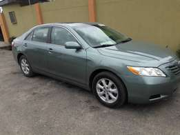 Toyota Camry 2009 leather seats.