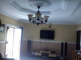 4 bedroom bungalow for sale at iju ishaga,new house owner occupier