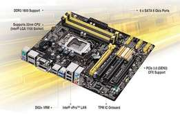 Asus Q87M-E motherboard for sale