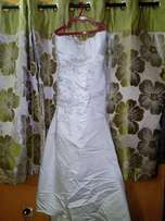 Wedding Gown with shoe for Sale
