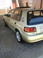 Stunning Toyota tazz for sale in excellent condition R18000