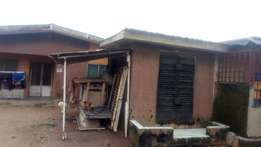 3 bedroom bungalow on half a plot at Agbelekale Able Egba