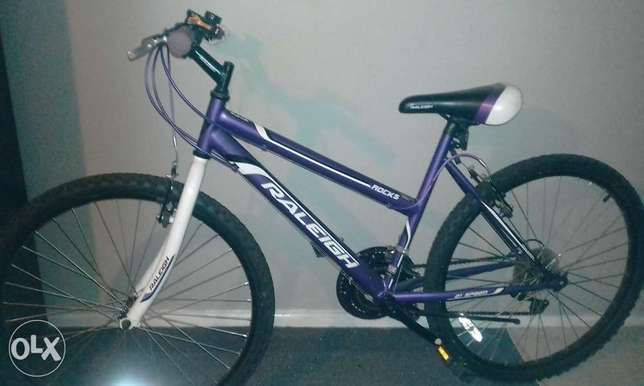 purple and white Raleigh moutain bike Parsons Hill - image 1