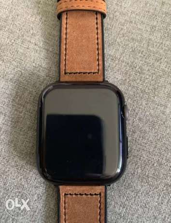 Apple watch cover black