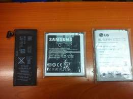 Sony samsung lg iphone htc huawei microsoft phone batteries