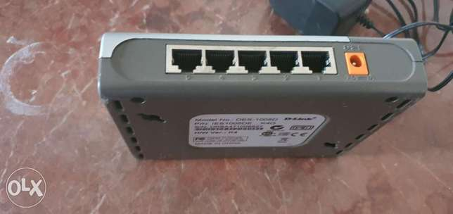 DLink 5 port switch
