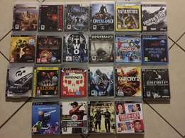 PS 3, 28 games & Extras